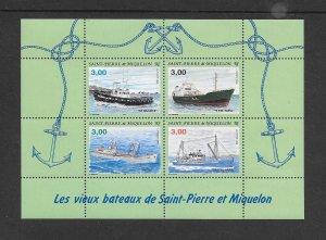 SHIPS - ST PIERRE & MIQUELEON #628   MNH