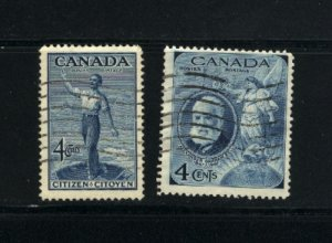 C  #274, 275    used  1947 PD