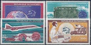 1974 Dahomey UPU, Planes, Cars, Concorde, Space complete set VF/MNH!