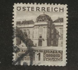 Austria Scott 338 Used stamp from 1929-30 set