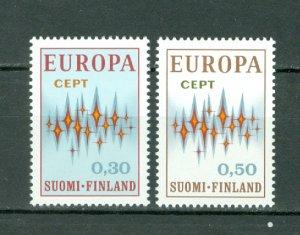 FINLAND 1972 EUROPA #512-513...SET...MNH..$7.00