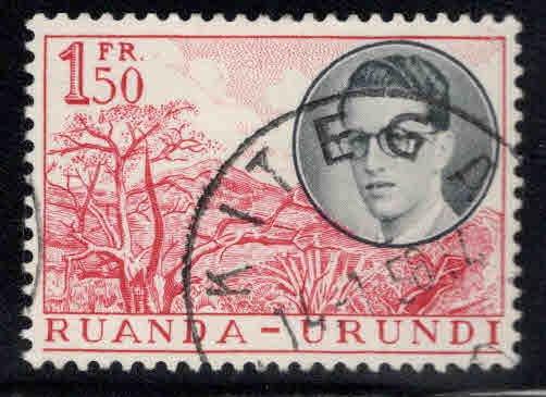 Ruanda-Urundi Scott 133 Used stamp