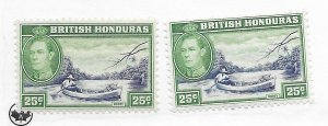 British Honduras #122 MH - Stamp CAT VALUE $1.75