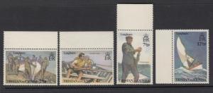 Tristan da Cunha 174-7 mnh