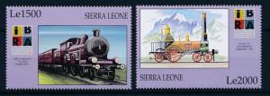 [62125] Sierra Leone 1999 Railway Train Eisenbahn Chemin de Fer  MNH
