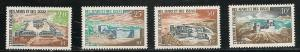 Afars & Issas 318-21 1968 Buildings set MNH