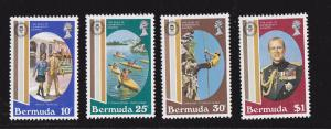 Bermuda MNH 415-8 Duke Of Edinburgh's Awards