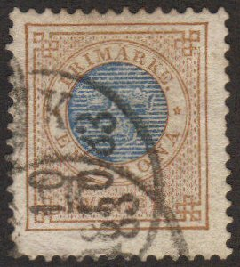 Sweden #38 used 1-krone early high value