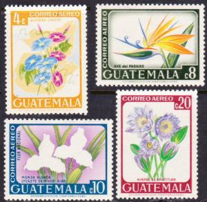 Guatemala #C352-5 MH flowers
