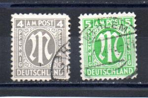 Germany - occupation 3N3a-3N4a used