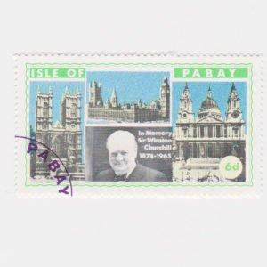 PABAY, British Local - 1968 - Churchill  - Perf MNH 4v Set