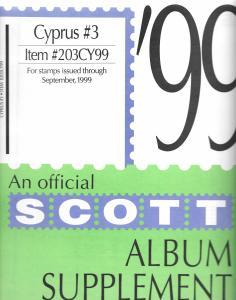 Scott Cyprus #3 Supplement 1999