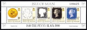 Isle of Man Scott 422  VF mint OG NH.