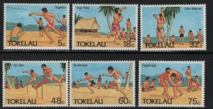 Tokelau  144-149 (6) SET, HINGED, 1987  Olympic sports