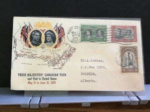 Canada 1939 Port Arthur Royal Canadian Tour   stamps cover R31634