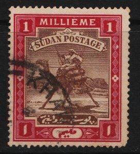 Sudan 1902/1921 Camel Post 1M (1/11) USED
