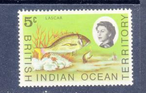 BRITISH INDIAN OCEAN 16 MNH VF