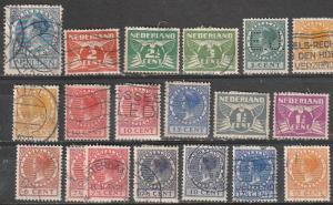 #161,143-45,147,149,151,153,166-7,173-75,178,180,182, Netherlands Used
