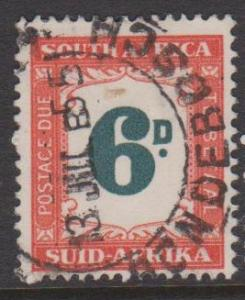 South Africa Sc#J44 Used