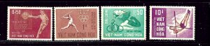 South Vietnam 272-75 MH 1965 Sports