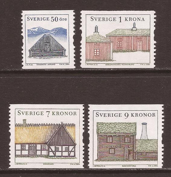 Sweden scott #2494-97 m/nh stock #35219