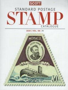 Scott 2020 Standard Postage Catalogue. Vol. 4B (M) Ex Library.  #02 SCC4B