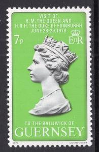 Guernsey 164 Queen Elizabeth II MNH VF