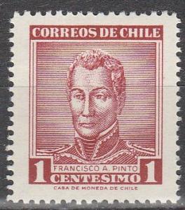 Chile #324   MNH    (S7313)
