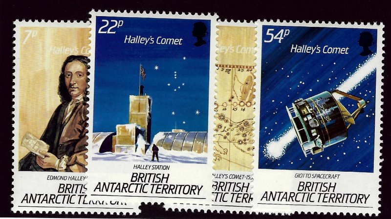 British Antarctic SC#129-132 MNH VF...Bid to win!!