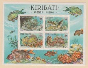 Kiribati Scott #455a Stamp - Mint NH Souvenir Sheet