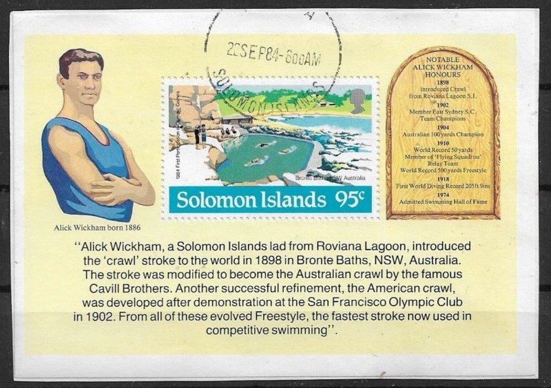 Solomon Islands used   1984