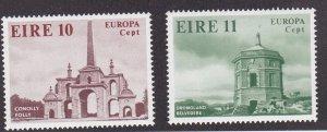 Ireland # 443-444, Europa - Architecture, NH, 1/2 Cat.