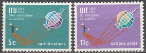 UN #141-2  MNH F-VF  (V2606)