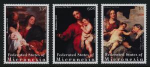 Micronesia 358-61 MNH Art, Christmas