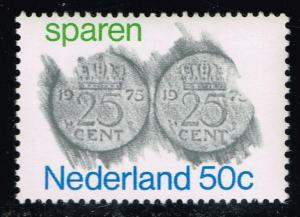 Netherlands #534 Rubbings of Coins; MNH (0.55)