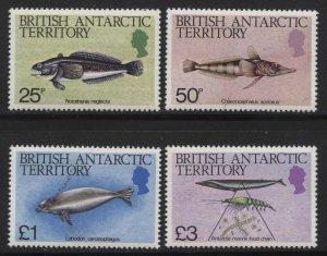 Br Antarctic Territory 1984 Marine Life Sc# 102-16 NH