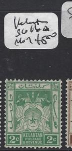MALAYA KELANTAN  (P1412B) 2C   SG 16A  MOG