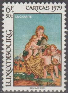 Luxembourg #B324 MNH F-VF (SU1681)