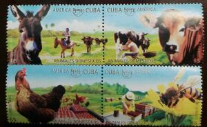 O) 2018 SPANISH ANTILLES, AMERICA UPAEP, BEES-BEEKEEPING,CATTLE.AVICOLA PRODUCTI