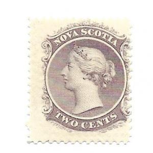 Nova Scotia 1860 - M - Scott #9