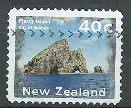 New Zealand SG 1985  VFU perf 11 1/2