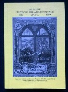 100 JAHRE DEUTSCHE PHILATELISTEN-TAGE MAINZ Postcards Postmarks Postal History