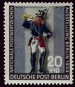 Berlin Germany SC#9NB12 Mint F-VF SCV$15.00...Worth a Close Look!