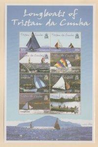 Tristan Da Cunha Scott #685 Stamps - Mint NH Souvenir Sheet