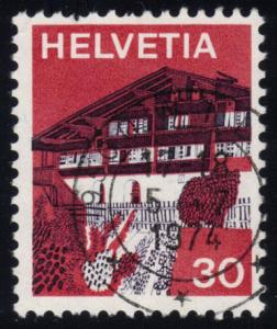 Switzerland #562 Simme Valley; used (0.25)