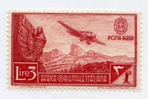 Italian East Africa, Scott #C8, Unused, Hinged