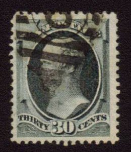 MALACK 165 VF JUMBO, nice lighter cancel, Fresh Stamp n6441
