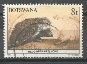 BOTSWANA, 1987, used 8t, Wildlife, Scott 410