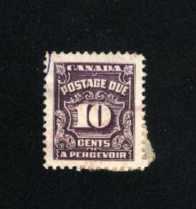 Canada #J20  1   used  1933-65 PD