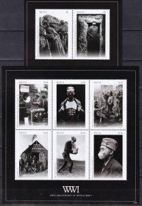 Nevis #1797, 1799   MNH CV $20.50 (Z5408L)